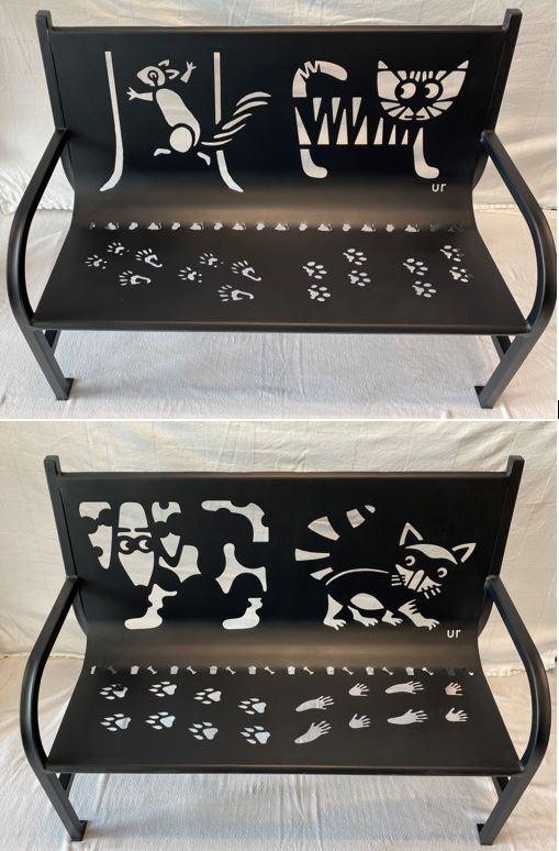 Cat Dog Bench